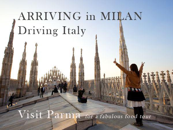 Arriving Milan Visit Parma