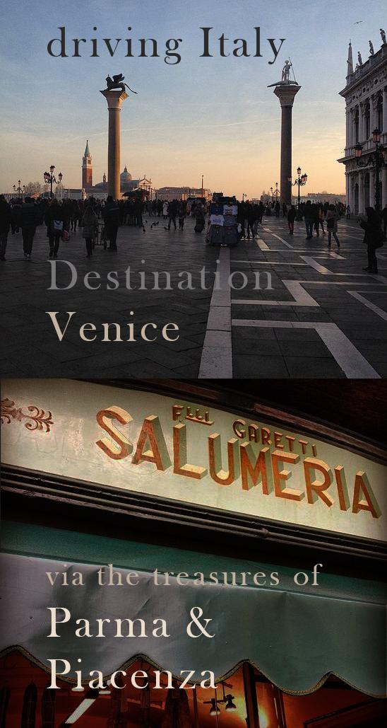 Visit Venice Italy ... stop at Parma food n walk tours