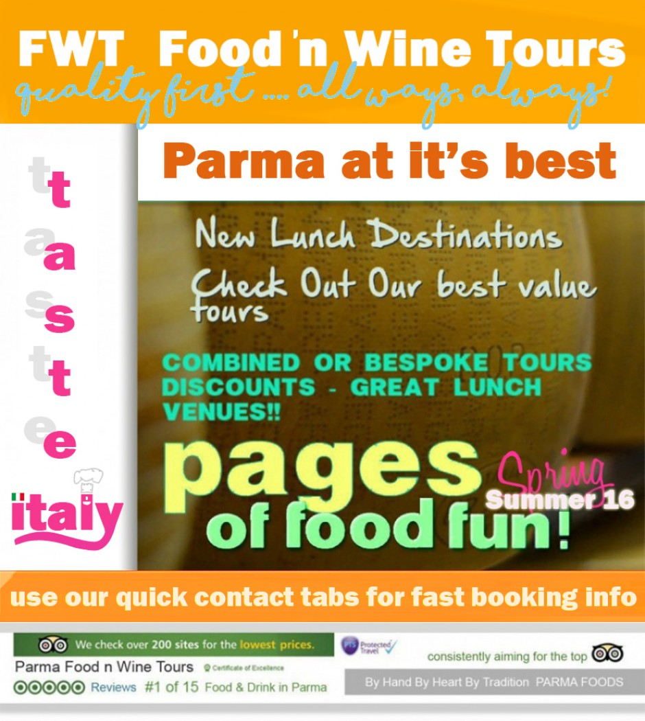 Food Tours Parma – Food n Walk tours