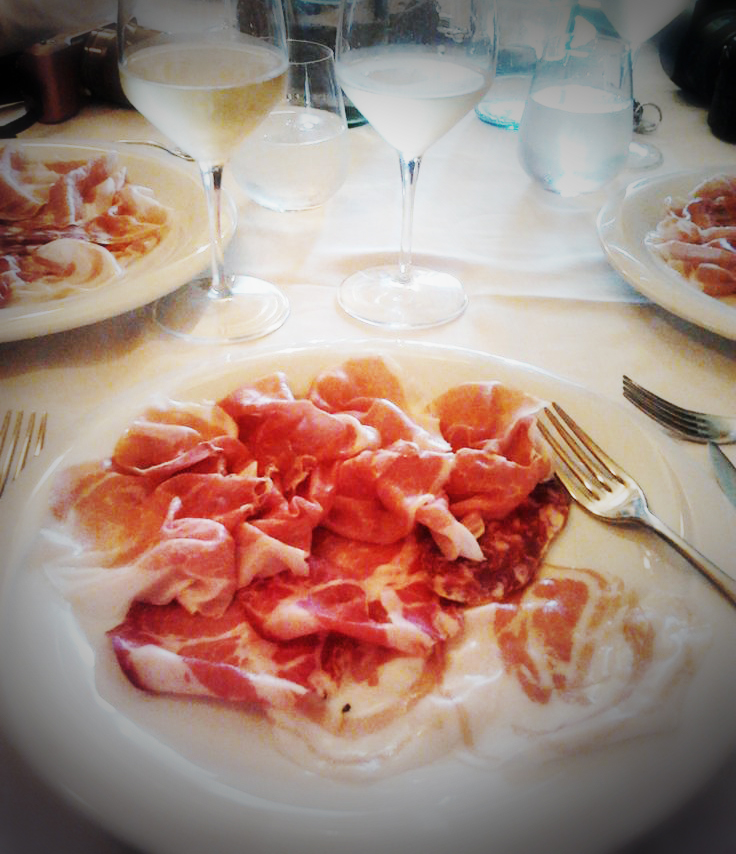 FWT Parma Lunch spread